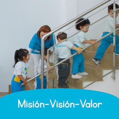 MISIÓN, VISIÓN, VALORES: por una educación de calidad